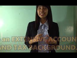 Best Resume Accounting by Video Resume Accountant Position Youtube