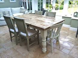 Farm Table With Bench And Chairs Farmhouse Table And Chairs Pine Farmhouse Table New Interiors