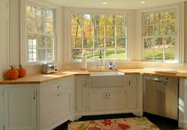 bay window kitchen ideas beautiful kitchen bay window on window treatment ideas for kitchen