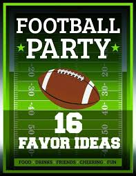 football favors bowl party 16 football themed favor ideas spaceships and