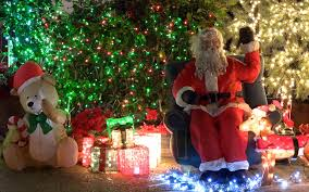 christmas light displays los angeles christmas lights show in los angeles 4k 2160p youtube
