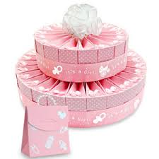 baby shower kits 2 tier baby shower favor cake kit it s a girl favor cake kits