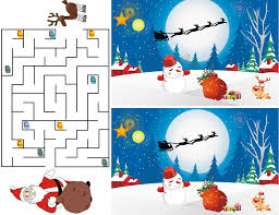 free christmas printable activities for the kids celebrations at