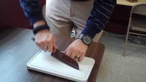 cutco santoku knife youtube