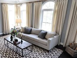 contemporary living room drapes and curtains enhance your