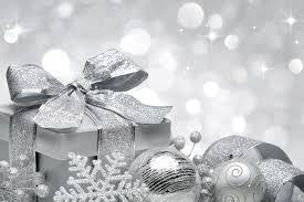 silver christmas silver christmas wallpaper festival collections