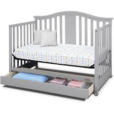 Convertible Cribs With Drawers Cool Baby Cribs With Storage Underneath Crib Drawer Dijizz