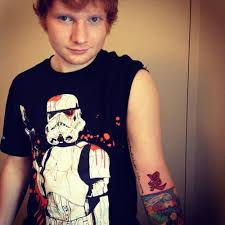 ed sheeran gingerbread man tattoo hi this is an ed sheeran blog thingy