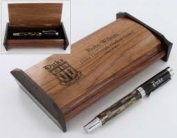 personalized box duke collection of gifts personalized wood pen