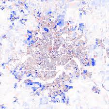 Map Of Minneapolis Urban Form Getting Around Minneapolis