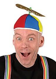 Tweedle Dee And Tweedle Dum Costumes Tweedle Dum Or Tweedle Dee Style Propeller Hat Amazon Co Uk