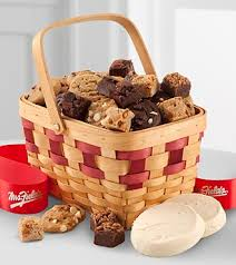 mrs fields gift baskets mrs fields gourmet cookies gift basket delivery