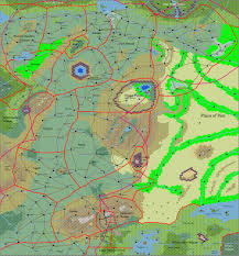 Giant Map Keep Amber Site Glorantha Geography