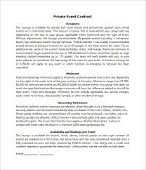 event planner contracts event planner contractevent planner