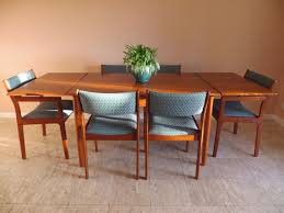 Mid Century Modern Dining Room Furniture by Mid Century Modern Dining Room Table And Chairs Immense Etsy 18