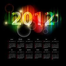 19 vector 2012 calendar images 2012 calendar template 2012