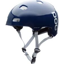 poc crane pure helmet lead blue hydrogen white lg xl ebay