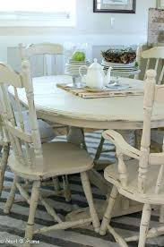 Painted Dining Table Ideas Chalk Paint Kitchen Table Ideas Painting Dining Room Chairs With