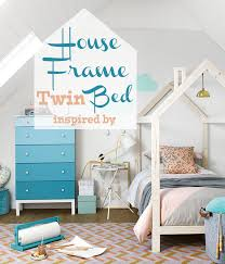 Kid Bed Frame Remodelaholic House Frame Bed Building Plan