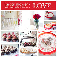 themed wedding shower themed bridal shower ideas for s day shower ideas