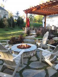 Pergola With Fire Pit by Outdoor Structures U2013 Pergolas Burkholder Landscape