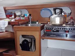 Small Boat Interior Design Ideas Down Below The Blind Sailor