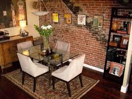 Bedroom Accent Wallpaper Ideas Dining Room Accent Wall Ideas Perfect Dining Room Stone Accent