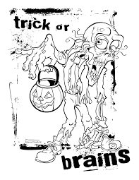 halloween scary coloring pages adults halloween archives