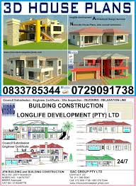 3d house plans design plus council submission and slab drawing