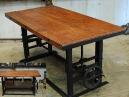Best Tables Images On Pinterest Wood Woodwork And Dining Tables - Adjustable height kitchen table