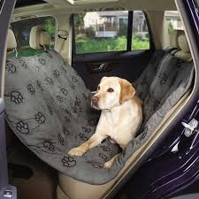 pawprint hammock car seat cover for dogs