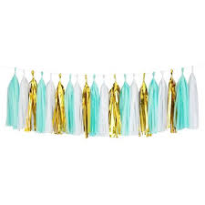 mylar tissue paper tassels party n beyond