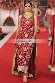 pakistani designer party wear suits for weddings 2013 by mehdi at