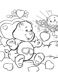 bears coloring pages kids