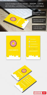 creativemarket yellow corporate business card 785890 all design