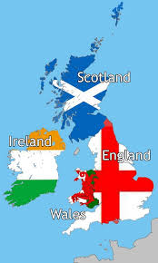 map uk ireland scotland map uk and scotland major tourist attractions maps