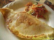 comment cuisiner l aile de raie aile de raie poêlée en julienne de légumes crémés recette cuisine