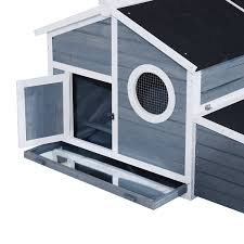 Backyard Chicken Coops Review pawhut deluxe backyard chicken coop barn with curved outdoor run