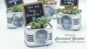 personalized party favors personalized mini succulent garden party favor onlinelabelshoa