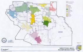 Los Angeles City Limits Map by Multiple Species Habitat Conservation Plan Mshcp Nexus Report