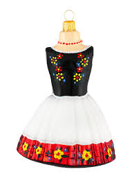 krakow folk dress ornament