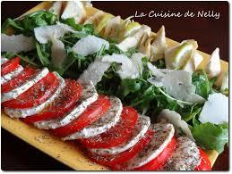 cuisine salade salade italienne la cuisine de nelly