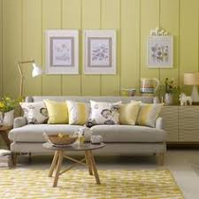 The Trick To Mixing Prints In Your Home Green Living Rooms - Yellow living room decor