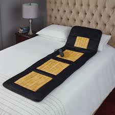 the any surface full body massage pad hammacher schlemmer
