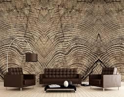 stump rings mural wallpaper