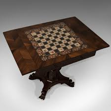 antique chess board games table quality english antiques atlas