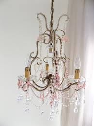 Crystal Beads For Chandelier Venetian Vintage Macaroni Beads Crystal Chandelier Lorella Dia