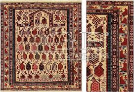 tappeti caucasici prezzi tappeto caucasico shirvan marasali antico cm 145 x 133