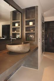Chocolate Brown Bathroom Ideas by Best 25 Natural Stone Bathroom Ideas On Pinterest Stone Tub