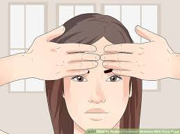 hair to hide forehead wrinkles 4 ways to reduce forehead wrinkles with face yoga wikihow